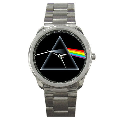 pink floyd the dark side of the moon wristwatch sport metal watch. Black Bedroom Furniture Sets. Home Design Ideas