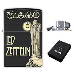 Lighter : Led Zeppelin IV Symbols - The Hermit