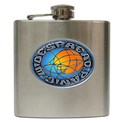 widespread panic liquor hip flask 6 oz. Black Bedroom Furniture Sets. Home Design Ideas