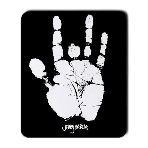 Jerry Garcia Handprint Mousepad Mouse Pad Mouse Mat