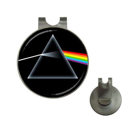 Pink Floyd The Dark Side Of The Moon Golf Ball Marker Hat Clip