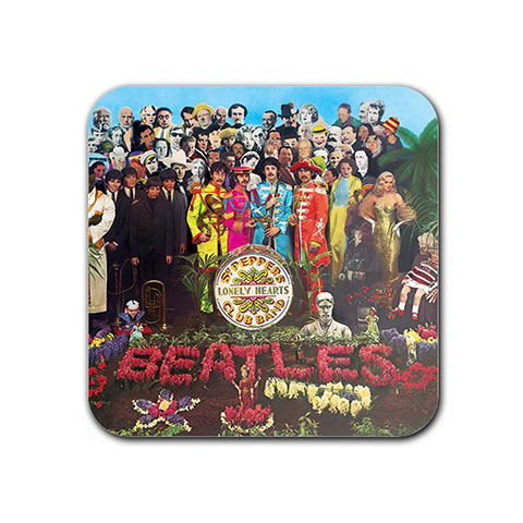 The Beatles Sgt Peppers Lonely Hearts Club Band Album Cover Fridge Magnet