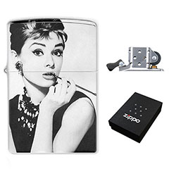 Zippo Lighter : Audrey Hepburn - Breakfast at Tiffany's