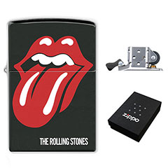 Zippo Lighter : The Rolling Stones - Tongue