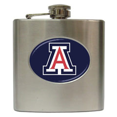 Liquor Hip Flask : Arizona Wildcats