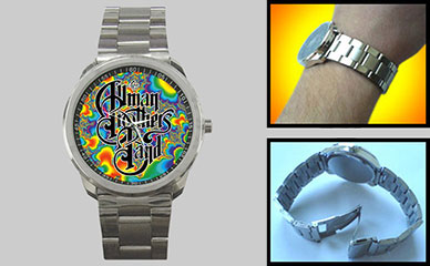 Sport Metal Watch : The Allman Brothers Band - Fractal