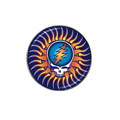 Golf Ball Marker: Grateful Dead - Steal Your Face - Sun