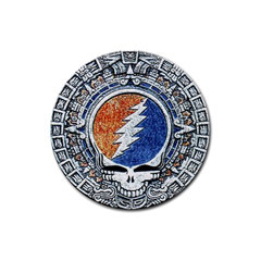 Round Rubber Coaster : Grateful Dead - Aztec - SYF