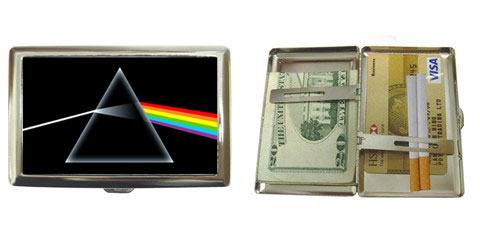 Cigarette Case : Pink Floyd - The Dark Side of the Moon