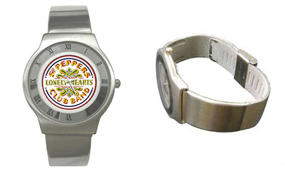 Roman Dial Watch : Beatles - Sgt. Pepper's Lonely Hearts Club Band