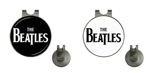 Golf Ball Marker Hat Clips : The Beatles