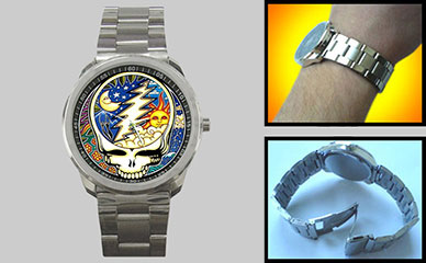 Sport Metal Watch : Grateful Dead - Steal Your Face - Cosmic - Night & Day