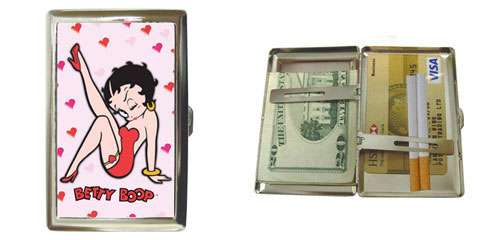 Cigarette Case : Betty Boop