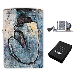 Lighter : Pablo Picasso - Blue Nude