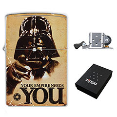 Star Wars - Darth Vader - Your Empire Needs You : (Zippo Style) Lighter