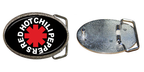 Belt Buckle : Red Hot Chili Peppers - RHCP