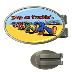 Money Clip (Oval) : Keep on Trucking