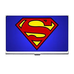 Card Holder : Superman Shield