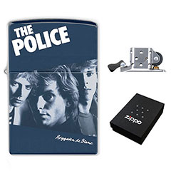 Zippo Lighter : The Police - Reggatta de Blanc