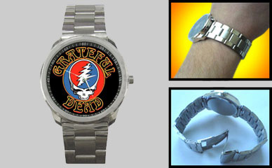 Sport Metal Watch : Grateful Dead - Steal Your Face