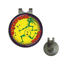 Golf Ball Marker Hat Clip : Widespread Panic - Note Eater