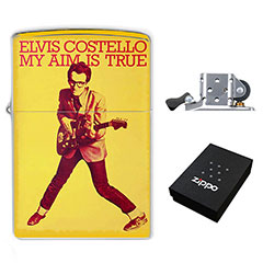 Zippo Lighter : Elvis Costello - My Aim Is True