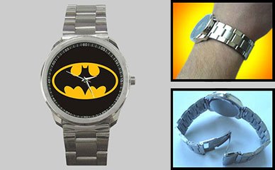 Sport Metal Watch : Batman Shield