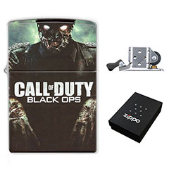 Call of Duty - Black Ops - Zombie : (Zippo Style) Lighter