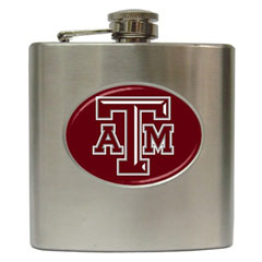 Liquor Hip Flask : Texas A&M Aggies