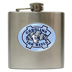 Liquor Hip Flasks : North Carolina Tar Heels