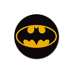Coasters (4 Pack - Round) : Batman Shield