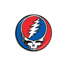 Golf Ball Marker: Grateful Dead - Steal Your Face
