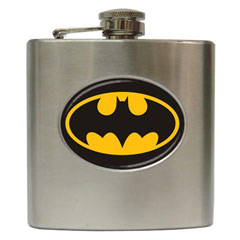 Hip Flasks : Batman Shield
