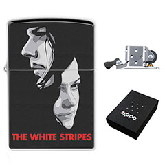 Zippo Lighter : The White Stripes