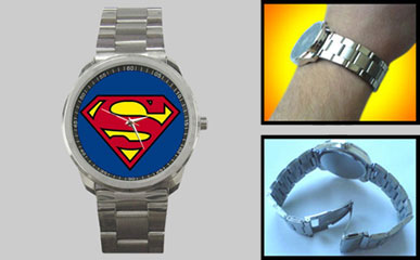 Sport Metal Watch : Superman Shield
