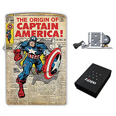The Origin of Captain America : (Zippo Style) Lighter