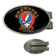 Money Clip (Oval) : Grateful Dead - Steal Your Face