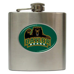 Liquor Hip Flasks : Baylor Bears