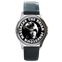 Round Metal Watch : Brian Jonestown Massacre