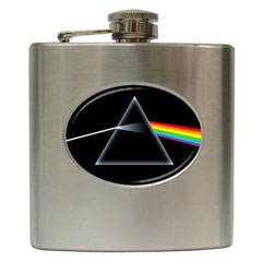 Liquor Hip Flask : Pink Floyd - The Dark Side of the Moon
