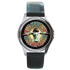 Round Metal Watch : Bob Marley - Natural Mystic