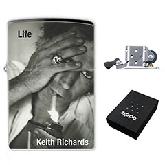 Lighter : Keith Richards - Life