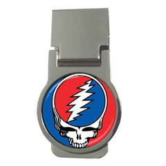 Money Clip (Round) : Grateful Dead - Steal Your Face