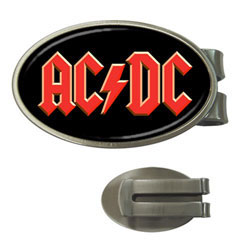 Money Clip (Oval) : AC/DC