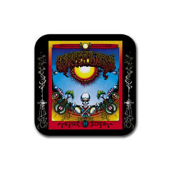 Coasters (4 Pack - Square) : Grateful Dead - Aoxomoxoa
