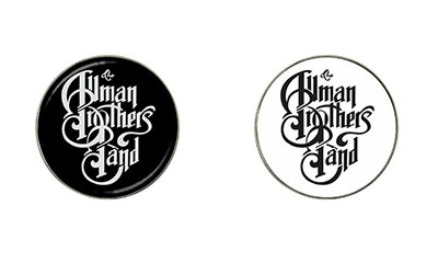 Golf Ball Marker : Allman Brothers Band