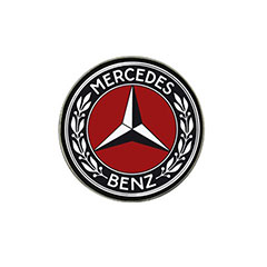 Golf Ball Marker: Mercedes-Benz