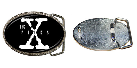 Belt Buckle : The X-Files