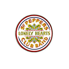Golf Ball Marker : Beatles - Sgt. Pepper's Lonely Hearts Club Band