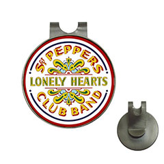 Golf Ball Marker Hat Clip : Beatles - Sgt. Pepper's Lonely Hearts Club Band